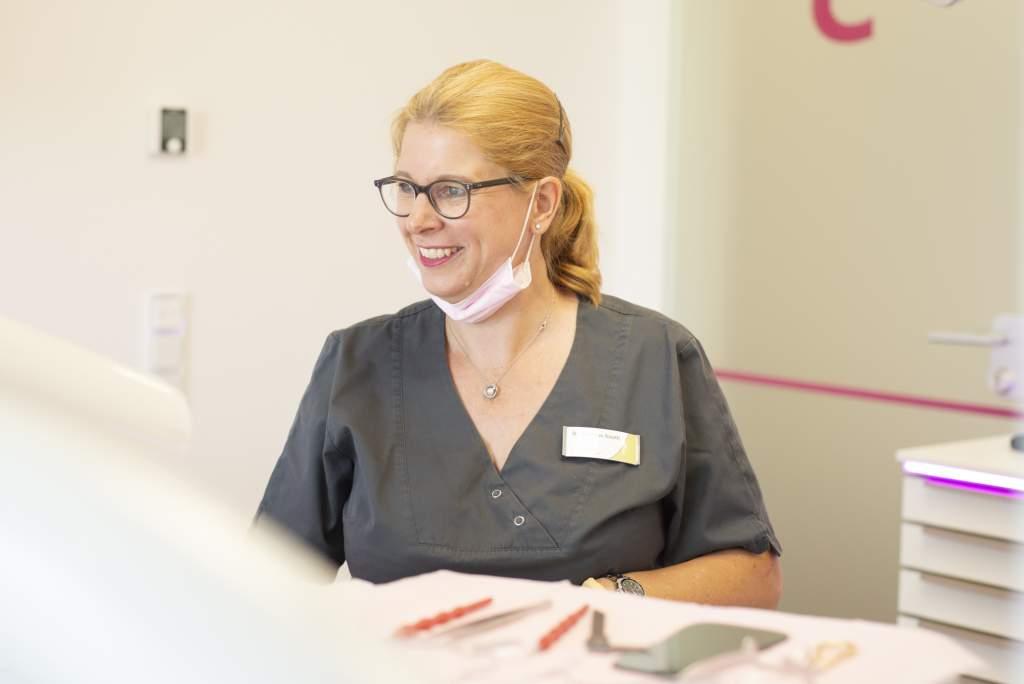 Zahnärztin und Kieferorthopädin Dr. Christine Nauth - medi+ in Mainz