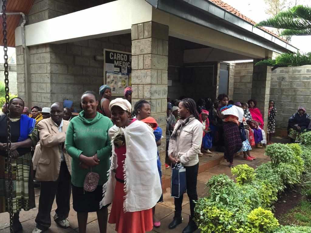Arbeitsplatz von Zahnärzting Dr. Helga Schaffner in Kenia